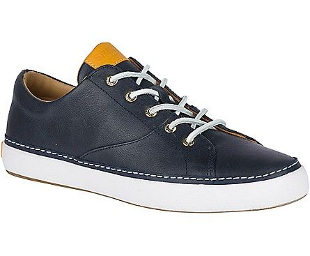 Gold Cup Haven Nautical Sneaker, Navy