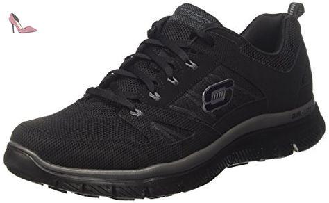 nouveau style et luxe réduction jusqu'à 60% vaste sélection Skechers - Flex Advantage - Sneaker, homme, noir (bbk ...
