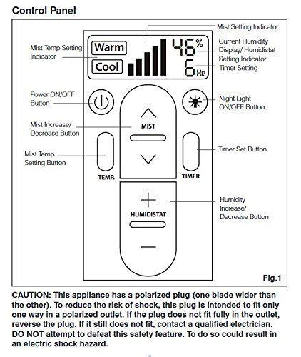Homedics Uhe Wm85 Warm And Cool Mist Ultrasonic Humidifier Humidifier Ultrasonic Mists