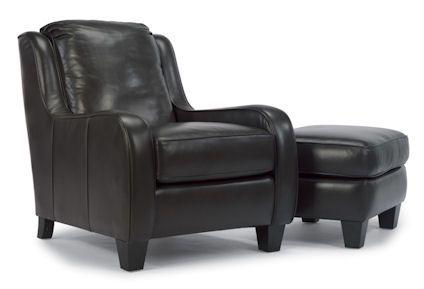 Flexsteel Furniture: Lounge Chairs: JitterbugChair & Ottoman (1709-CO-Stock)