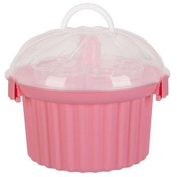Pink Cupcake Shaped Cupcake Holder Cupcake Carrier Pink Cupcakes Baking Supplies