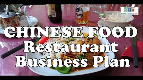 Chinese Food Restaurant Business Plan Template With Example Sample Food And Restaurant Business Chinese Food Restaurant Restaurant Business Plan