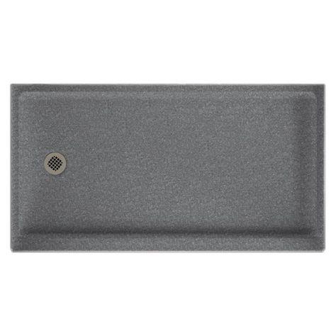 Swanstone Sr 3260l Retrofit Single Threshold Shower Receptor With