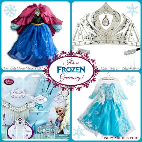 It's a #Frozen Giveaway! Enter to win BOTH dresses (size 5/6) between July 27 and August 9, 2014!