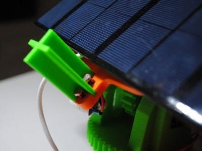 Dual Axis Solar Tracker Panel With Auto And Manual Mode Solar Tracker Solar Energy Panels Solar Panel System