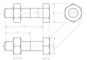 Dibujo Tecnico Y Algo Mas Acotacion En Dibujos Norma Din 406 Tecnicas De Dibujo Dibujo Tecnico Ejercicios Ejercicios De Dibujo