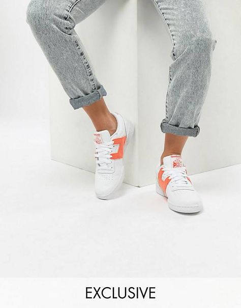 Reebok  Leisure Pack  Club Workout Trainers Exclusive To ASOS ... 498363be2