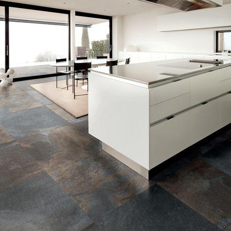 Carrelage Imitation Pierre 60x60 Lavagna Rectifie Collection