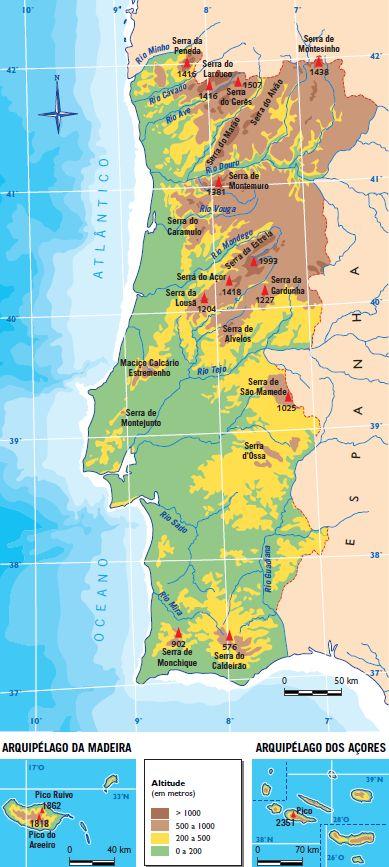Mapas Portugal Fisico Buscar Con Google Con Imagenes Mapa