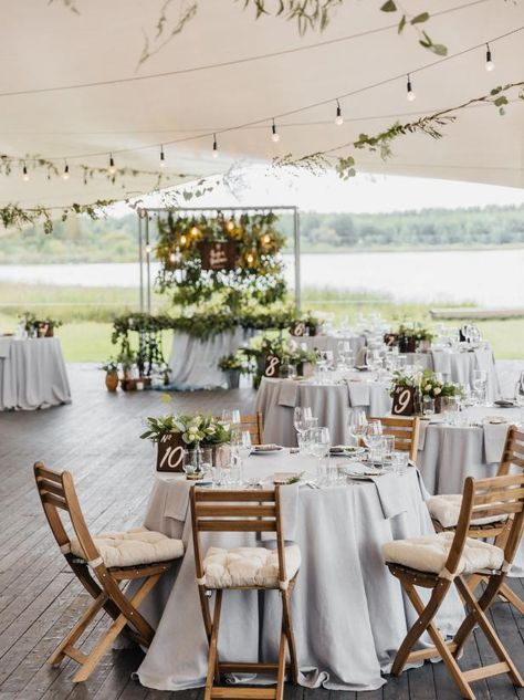 Wedding outside nice table decoration … The post Wedding outside beautiful table decoration appeared first on Best Pins for Yours - Wedding Gown Wedding Outside, Woodsy Wedding, Marquee Wedding, Chic Wedding, Glamorous Wedding, Wedding Ceremony, Outdoor Wedding Theme, Trendy Wedding, Simple Wedding Reception