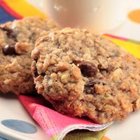 Deluxe Oatmeal Raisin Cookies -- make them with chocolate covered raisins!