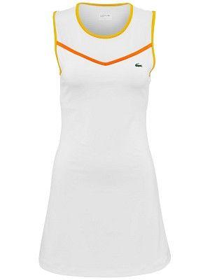 63ab3eba26 Lacoste Women's Spring Dress | Tennis Anyone? | Athletic tank tops ...