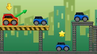 Play Crazy Parking Game Online For Free At Scorenga Attempt To Land Your Car Safely On The Parking Space By Launchin Fun Online Games Mobile Game Online Games