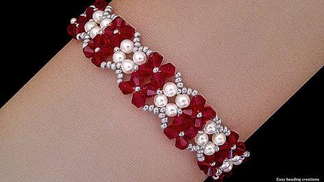 10 minutes DIY gorgeos bracelet//  Easy beading creations//