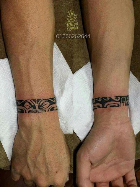 Tato Tribal Lengan Warna : tribal, lengan, warna, Tattoo, Batik, Tato,, Desain