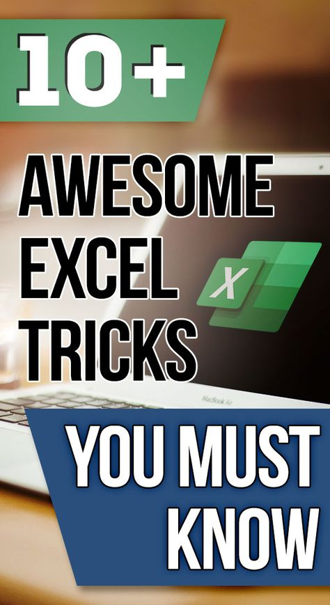 Think you know Excel on your finger tips better? Have a look at these TEN awesome tricks you probably didn't know and you must care to learn them Free Excel tips, tricks, tutorials, dashboard templates, formula core book and cheat sheets Computer Help, Computer Programming, Computer Science, Computer Tips, Excel Tips, Excel Hacks, Microsoft Excel Formulas, Computer Shortcut Keys, Excel For Beginners