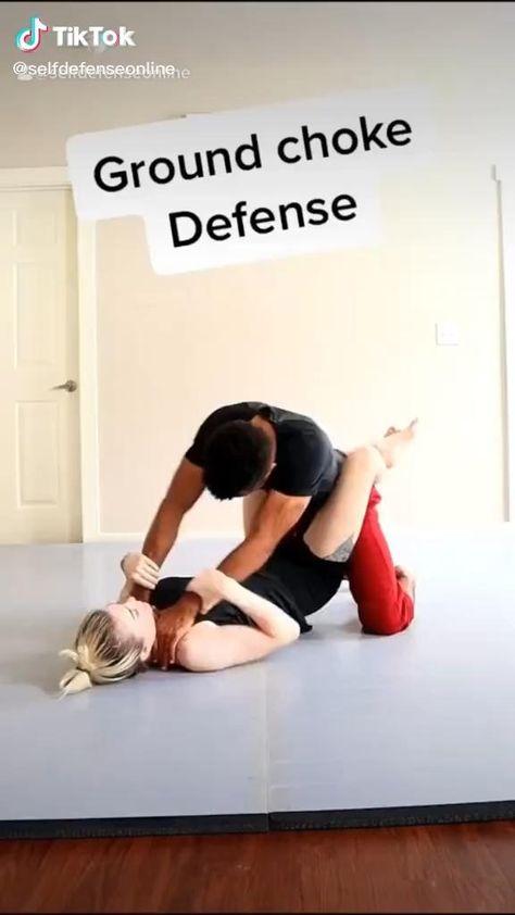 Martial Arts Self Defense: Jiu Jitsu Technique