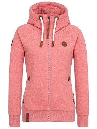 Naketano Damen Sweatjacke pink (315) M. Material: 65