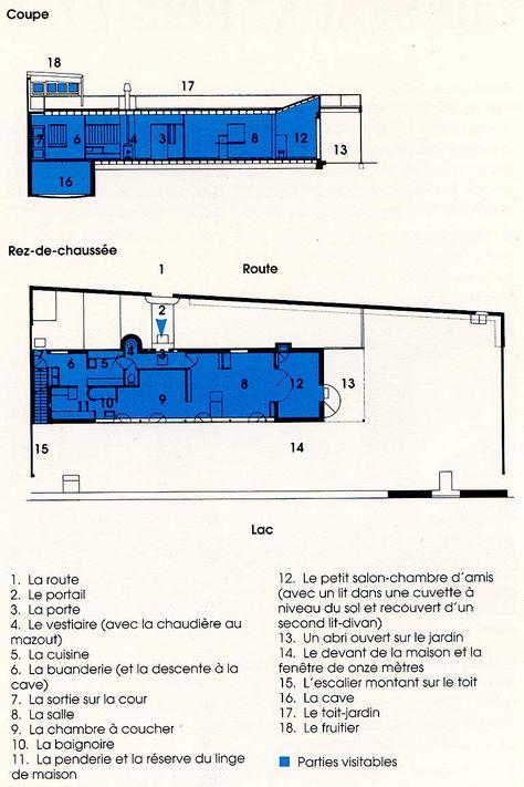 14 best corbusier le lac images on Pinterest Villas, Architecture