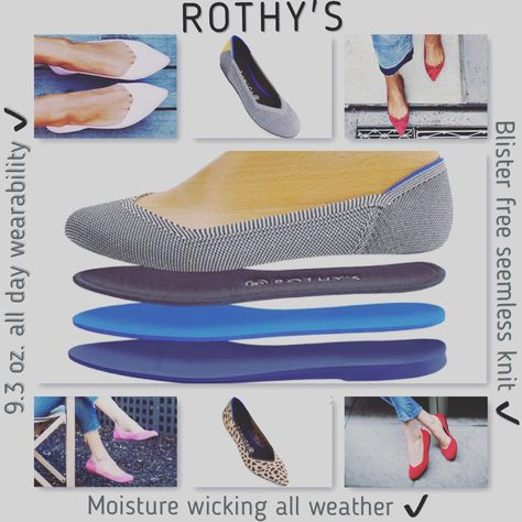 podiatrist Rothy's- Great flats based out...