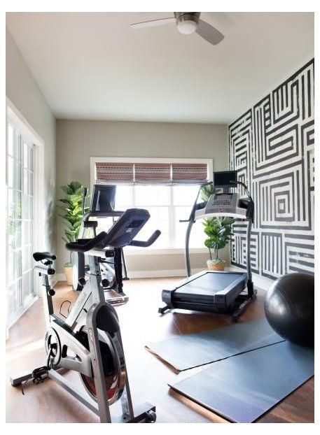 Pictures Of The Hgtv Smart Home 2016 Exercise Room Smarthome In