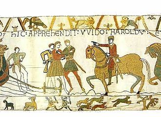 Guy I Count Of Ponthieu Wikipedia Bayeux Tapestry Tapestry Viking Pattern