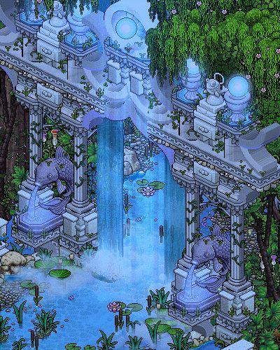 Ancient Gateway GIF by Cutiezor só vejo atlântida em 16 bits