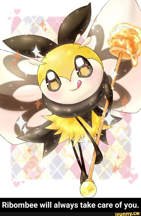 Ribombee Will Always Take Care Of You Ribombee Will Always Take Care Of You Pokemon Fairy Type Pokemon Alola Pokemon