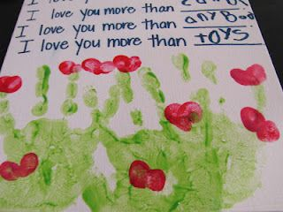 I love you more than... for mother's day