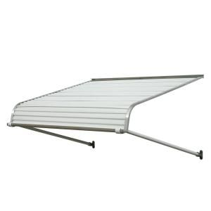 4 Ft 1100 Series Door Canopy Aluminum Awning 12 In H X 42 In D In White Aluminum Awnings Door Canopy Awning Over Door