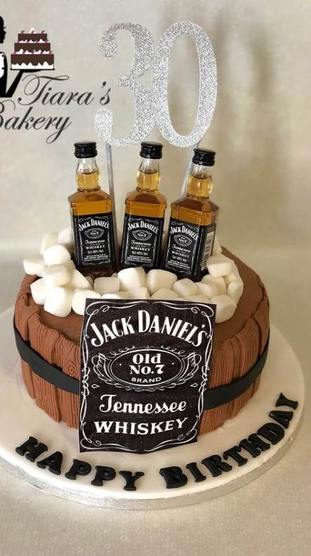 68 Ideas For Cake Birthday Men Jack Daniels Cake Birthday With