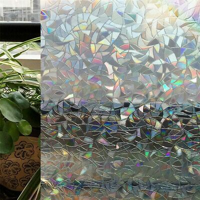 Privacy Stained Glass Frosted Film Home Door Decorative Window Tint Static Cling In 2020 Decorative Window Film Window Film Window Film Privacy