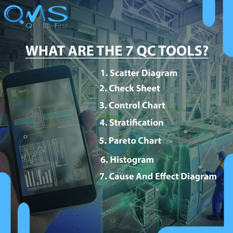 What are the 7 QC tools?