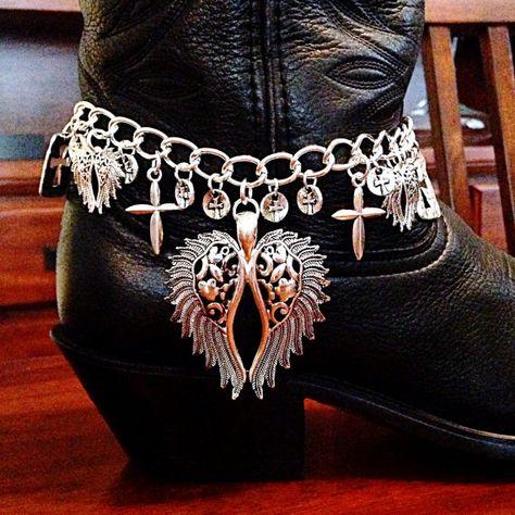 2897e2f9834b3 Loaded Bullet & Shotshell Mixed Metal Boot Bracelet - BEST SELLER ...