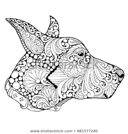 Discover This And Millions Of Other Royalty Free Stock Photos Illustrations And Vectors In The Shutterstock Col Doberman Doberman Puppy Animal Coloring Pages