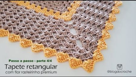 Bico Em Croche Carreira Unica 44 Crochet Alligator Tapetes