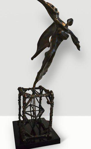 Salvador Dali sculpture for sale through Robin Rile Fine Art info@robinrile.com. La escultura de Salvador Dali esta disponible por Robin Rile Fine Art.