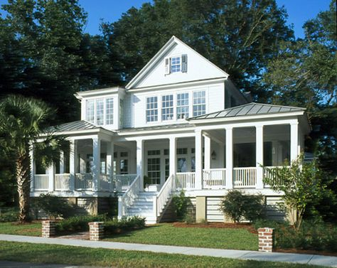 House plans on pinterest house plans country farmhouse for Southern coastal house plans