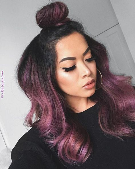 Running Late Hairstyles, Finally the last but not the least of your easy hairstyles for long hair list, this one is the ideal hairdo for the woman who like sleep in instead of spending quality time doing her hair. #wavyhair