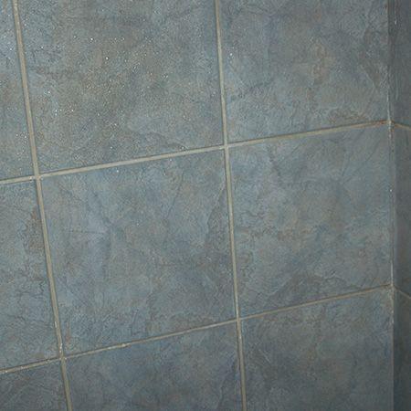 Below The Tiles After Spraying With White Spirit Vinegar