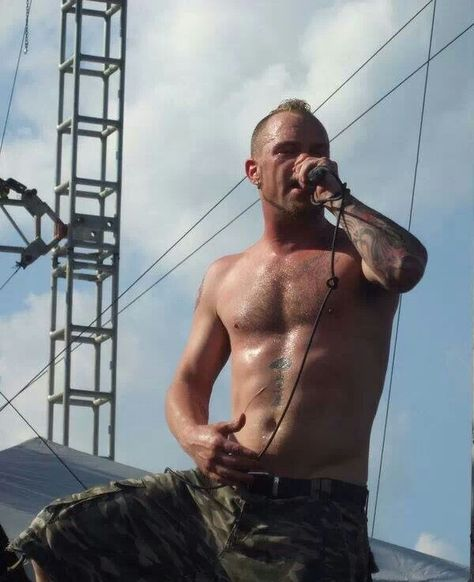 Ivan Moody ♥ oh how scrumptious - there are things that I would do to this man that are so dirty - oh so dirty - I think i may be in love.