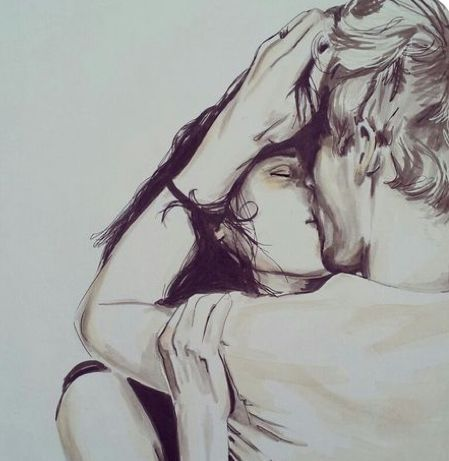- - # love couple drawings - #couple #drawings