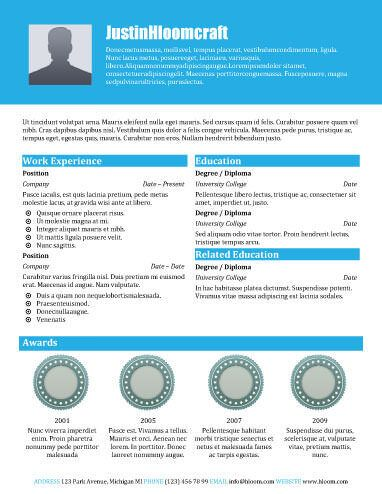 Resume Templates for OpenOffice Free - http://getresumetemplate.info ...