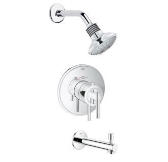 Grohe Grflx T101 Shower Tub Tub Shower Faucets Shower Arm