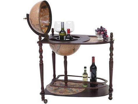 Globusbar Mit Tisch Hwc T875 Minibar Hausbar Tischbar Weltkugel