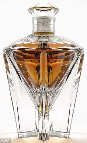 The Queen's 'Diamond Jubilee' whisky - distilled in 1952 and bottled on 6th February 2012!