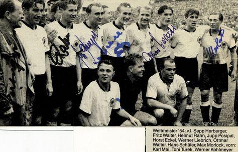 Fussball Wm 1954 Inspiration Frl W Kruger Dirndl