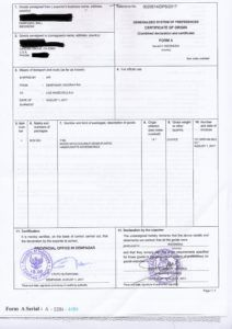 An Air Waybill Awb Or Air Consignment Note Is A Receipt Issued