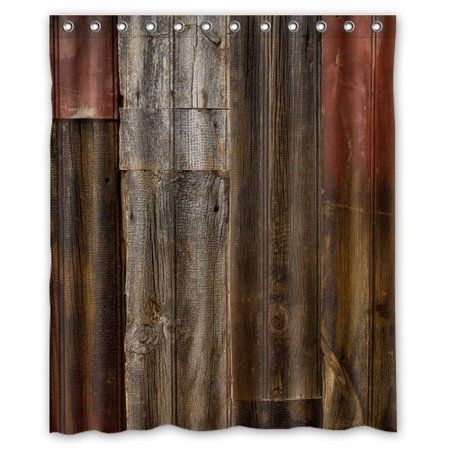 Home In 2020 Rustic Curtains Rustic Shower Curtains Old Barn Wood