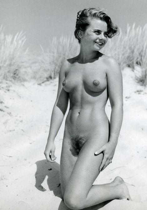 Remarkable, very naked nudist pic retro woman